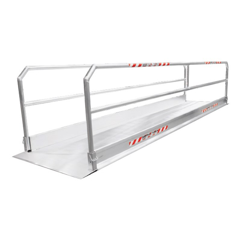 aluminium loopbrug